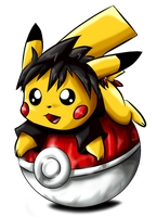 pika-ball by Tailzkip