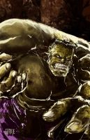 Hulk by johnnymorbius