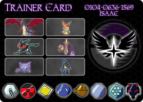 Pokemon Trainer ID Card by Drayle88