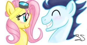 SoarinShy little sketch by some-pegasister