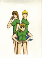 Three Girls by anime-halo