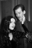 Morticia and Gomez Addams: Later, my Dearest by HarleyTheSirenxoxo