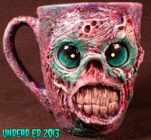 Zombie Toxic Sugar Sweet Rot Deluxe Mug Undead Ed by Undead-Art