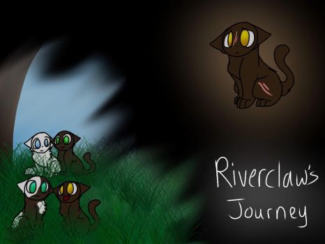 Riverclaw's Journey by SkyeShey7