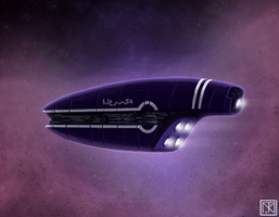 Starship Concept IV by merbel