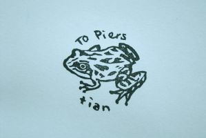 Piers the Frog by ttyr