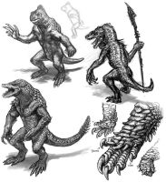 Reptilian Design: First Thumbs by DSil