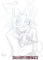 Happy B-day Yugi xD by XtremeMiruka