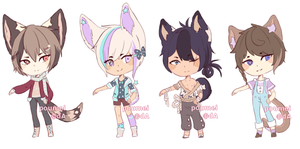 [OPEN 1/4] Starb Adopts by poumei