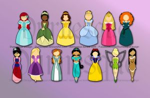 The Princesses by Durnesque