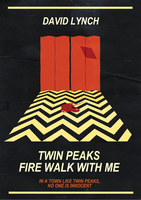 'Red Room' Twin Peaks poster by traumatron