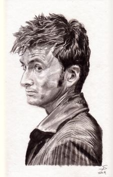 Doctor Who - David Tennant by Shingel