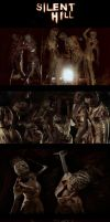 Silent Hill Nurses by michivvya