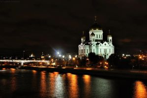 Cathedral of Christ the Savior by Lyutik966