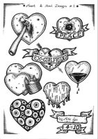 Tattoo Flash 3 by mikegee777