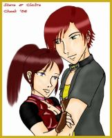 Steve 'N' Claire by cheeb