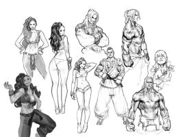 SfV Sketches by your-fathers-belt