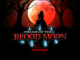 Dream of the Blood Moon - Custom Title Screen by Mauritaly