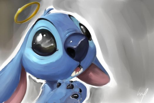 Stitch sketch by theartofraku