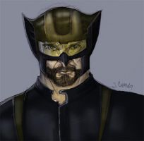 Wolverine Motorcycle Helmet by JimmyChang83
