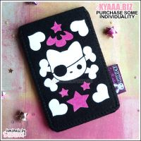 Pirate Cat - iPhone iPod Case by shiricki