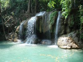 Waterfall in Thailand by Andy-Frische