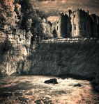 Castle On The Cliff by Life-For-Sale