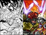 Max Dinobots 4 cvr by MarceloMatere