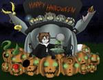 Rusty wish you a Happy Halloween ! by Niutellat