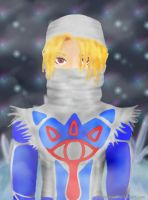 Sheik in the Misty Ice Cavern by ShinaLynari