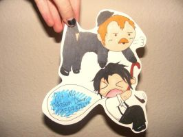 Holmes and Watson Paperchild by Tobi-Teh-Great
