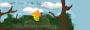 Yellow House by SprayPaintHavoc