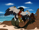 Harpy and Mermaid -WIP- Flats by TaylorBrooke123