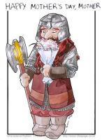 Happy Mothers Day from Gimli by tifachan