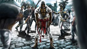 Assassins Creed in Brazil by Artigas