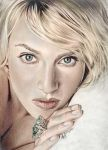 Kate Winslet Beauty Drawing by riefra