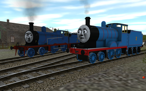 Railway Series meets Television Series: Edward by Sergeant-Sunflower