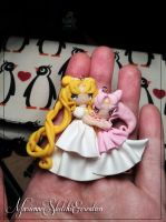 serenity and chibiusa remake by DarkettinaMarienne