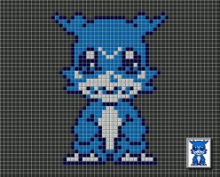 Digimon Tiled by drsparc