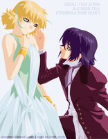 Cagalli + Athrun - Pure Heart by sweet-nothing
