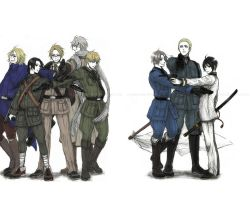 Axis Powers Hetalia - AXIS ALLIES by Cryndigo