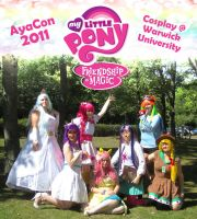 My Little Pony Cosplay group by sonialeong