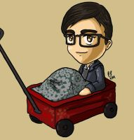 Lil Gabe's Wagon by iluvbsbkevin