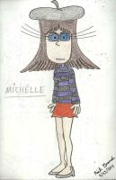 Character #25: Michelle by gretzelboy89