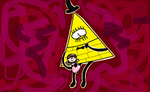 Bill Cipher and Bad Sofia by ABtheButterfly