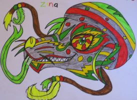 Zina The Rasta Fox by BlueBRogue