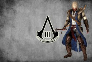 Assassin's Creed 3 - Connor Kenway Wallpaper by IshikaHiruma
