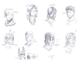 Angel's faces practise by punki123