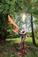 [League of Legends] Riven (Battle Bunny version) 1 by rinoafatali