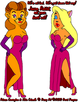 Rebecca and Kitten as Jessica by tpirman1982